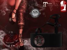 + Occult + Mysteria Shoes {Maitreya & Slink Flat}BLACK
