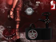 + Occult + Mysteria Shoes {Maitreya & Slink Flat}SILVER