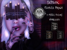 + Occult + Candle Crown Black (FATPACK)