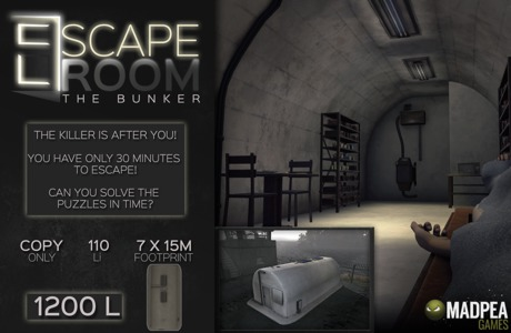 MadPea Escape Room: The Bunker