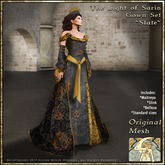 !!SMD!! The Light of Sarin Gown Set-Slate