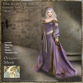 !!SMD!! The Light of Sarin Gown Set-Iris