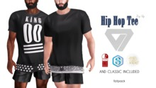 ILLI - [MeshProject,Physique,Signature Gianni,Classic] Hip Hop Zip Up Tee (HUD Driven) - PROMO