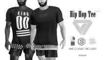 ILLI - [MeshProject,Physique,Signature Gianni,Classic] Hip Hop Zip Up Tee DEMO