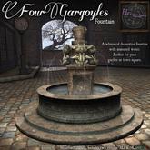 *HEXtraordinary* Four Gargoyles Fountain