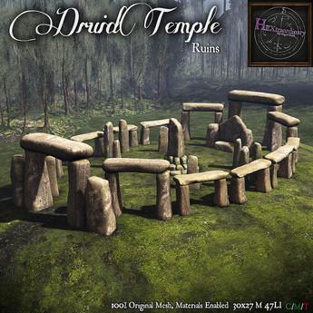 *HEXtraordinary* Druid Temple Ruins