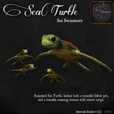 *HEXtraordinary* Sea Turtle Swimmer