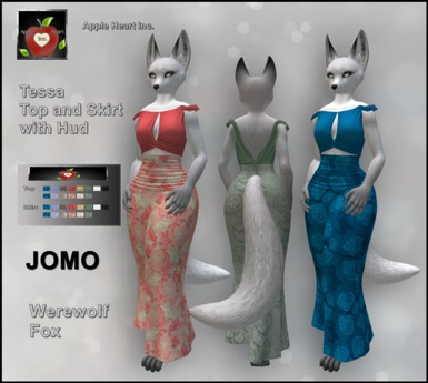 Apple Heart Inc.  Jomo Tessa Top + Skirt with Hud