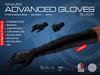 GRAVES Advanced Gloves - Black - mesh leather latex gloves, maitreya, belleza, slink ...