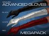 GRAVES Advanced Gloves - Megapack - mesh leather latex gloves, maiteya, belleza, slink ...