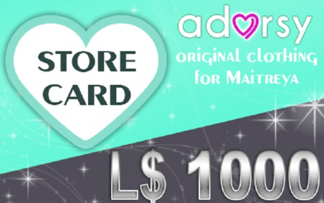 Adorsy Gift Card 1000L$