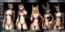 (UG) - Hailey Bikini Furry