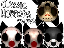 HALLOWPUP! Classic Horrors Mask texture mod  -Fatpack