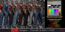 [ RL ] Designs - Overalls & Shirt + HUD *BAG*