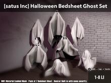 [satus Inc] Halloween Bedsheet Ghost Set