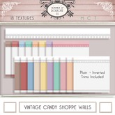i { DH } Vintage Candy Shoppe Walls 2