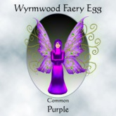 Wyrmwood Egg Common Purple Fairy