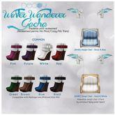 [Decoy] Winter Wanderer Gacha - Boots Purple