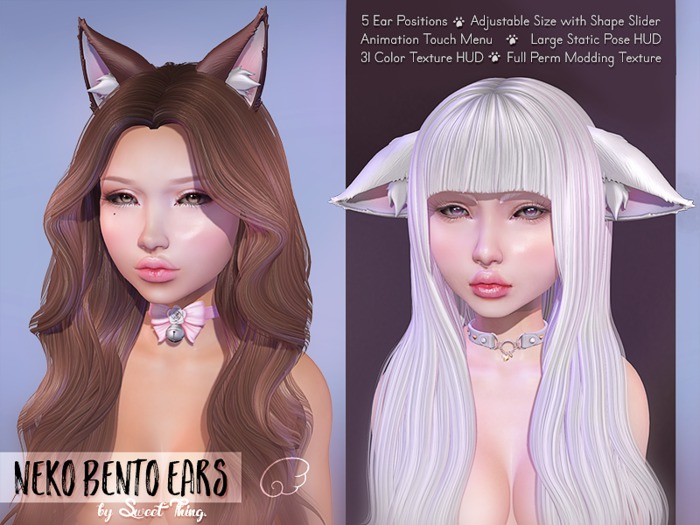 Neko Ears (Bento) by Sweet Thing.