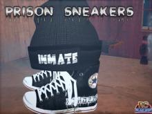 {RC}Inmate Sneakers & Beanie