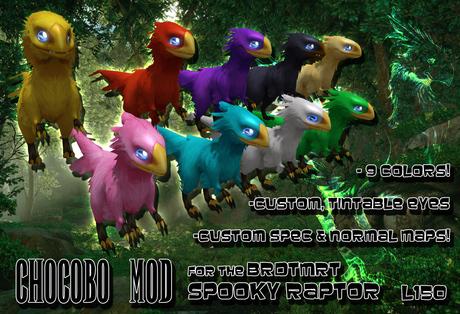 [KZK] - Chocobo Mod for BRDMRT Spooky Raptor
