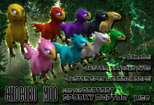 [KZK] - Chocobo Mod for BRDMRT Spooky Raptor