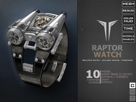 **RE** ReVoX Raptor Watch * MESH * (*ReVoX Collection*)