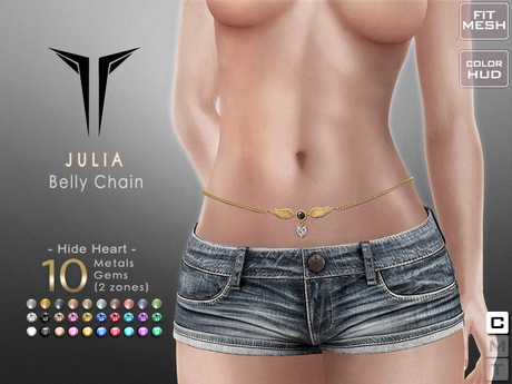 **RE** Julia Belly Chain - Maitreya, SLink, Belleza