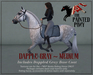 The Painted Pony ~ Dapple Gray - Medium coat for *WH* Riding horse