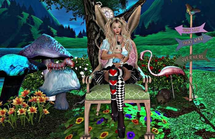 {ACD} This Way To Wonderland Set PG