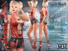 Bella Moda: il Lucido Red Glossy Latex Outfit