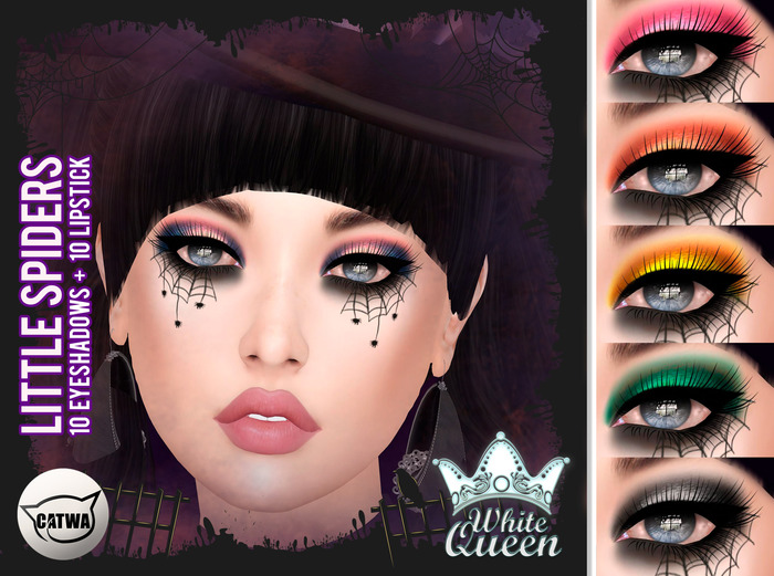 ::White Queen :: LITTLE SPIDERS MAKEUP - CATWA