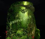 Amazing 1 prim jungle view/background