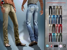 A&D Clothing - Pants -Dexter-  FatPack