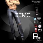 DEMO * PierreStyles - OLIVER  JEANS: Classic & SLINK,TMP,GIANNI,ADAM,BELLEZA,AESTHETIC