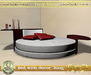 """Bed with decor """"Ring"""" 100% mesh (full perm)."""