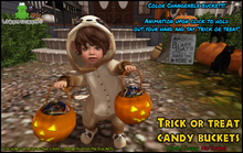 ! Whippersnappers ! - Customizable Halloween candy bucket