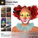 A&A Clown Hair Mesh All Colors Pack. Clown hair