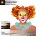 A&A Clown Hair Mesh Variety Colors Pack. Clown hair
