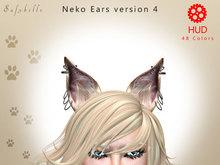 BENTO NEKO  EARS v4  48 Colors - 12 Positions - 6 Random Animations