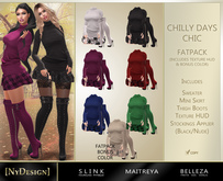 [NyDesign] Chilly Days Chic Outfit - Fatpack