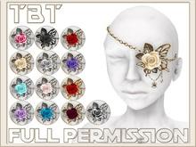TBT FULL PERMISSION Goth EyePatch 01 (neo victorian Steampunk)