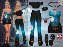 Maci ~ Scary Night Halloween Outfit (for Maitreya, Slink & Belleza Mesh Bodies)