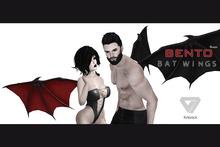 ILLI - [Bento Project] Bat Wings (HUD Driven)
