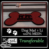 Doggy Style Mat Bold Red