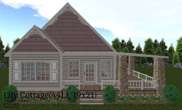 Lily Cottage(44LI, 19x21)