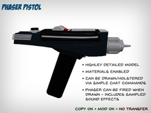 Star Trek Phaser Pistol (TOS)