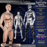 ~JJ~ Android 2.0 Skin and Tattoo Selections