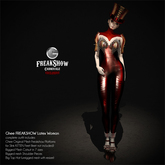 Ghee FREAKSHOW ~ LATEX WOMAN (complete outfit)
