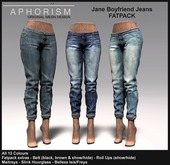 !APHORISM! - Jane Boyfriend Jeans - Fatpack